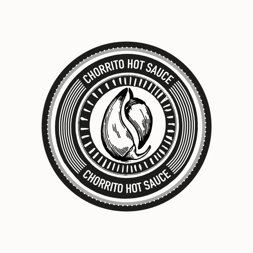 Chorrito hot sauce logo