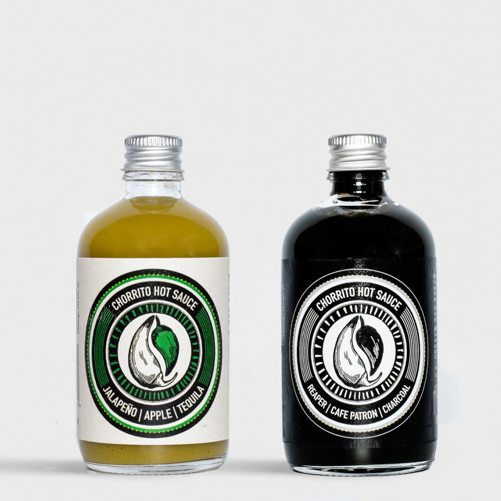 Chorrito two bottles