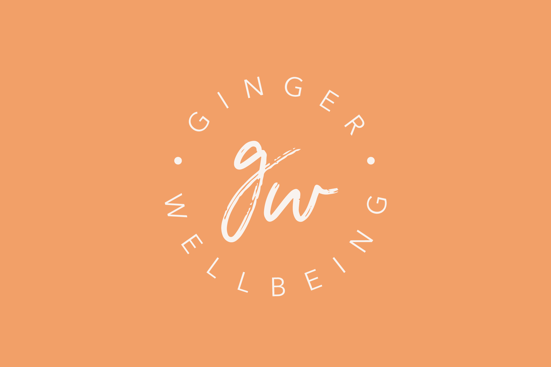 Ginger wellbeing logo
