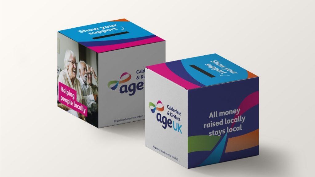 age uk charity box