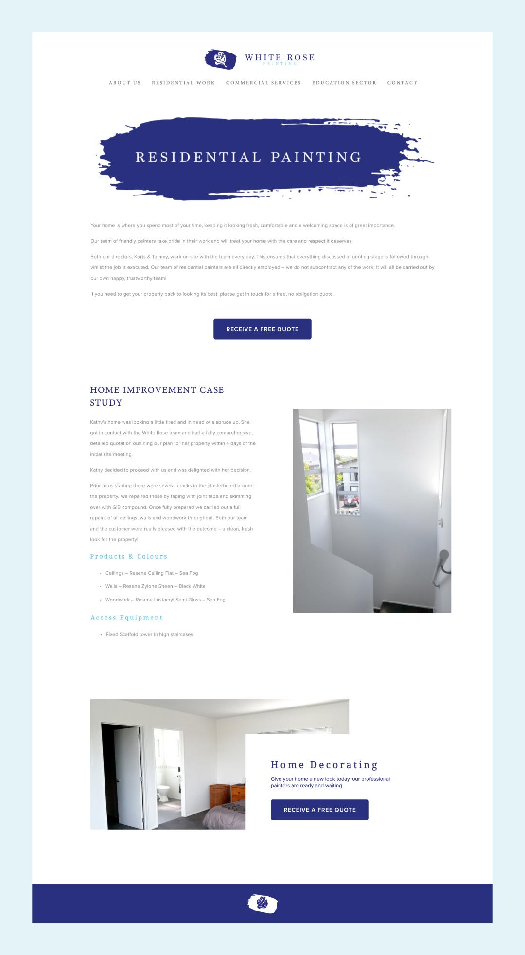 painter-decorator-website